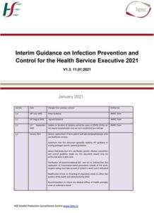 Interim Guidance on infection prevention and control for the Health Service Executive 2021